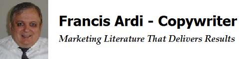 Francis Ardi | Health Copywriter